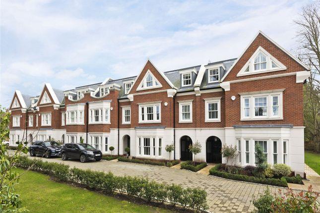 Thumbnail Town house for sale in Oatlands Court, St. Marys Road, Weybridge, Surrey