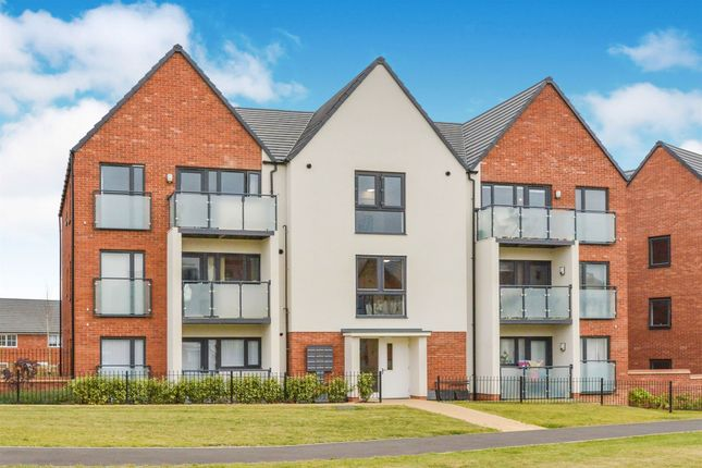 Thumbnail 2 bed flat for sale in Cicero Crescent, Fairfields, Milton Keynes