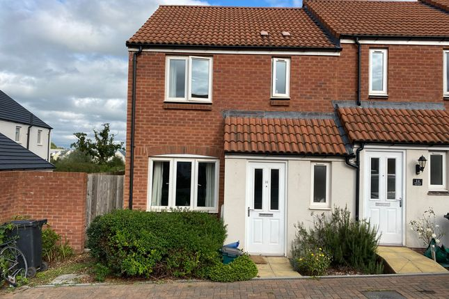 Thumbnail End terrace house to rent in Morgan Sweet, Cranbrook, Exeter
