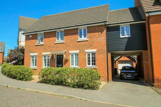 Thumbnail Link-detached house for sale in Skylark Way, Stowmarket