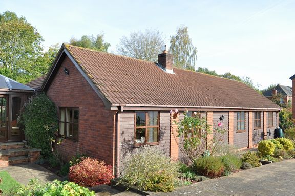 Thumbnail Detached bungalow for sale in Cullompton