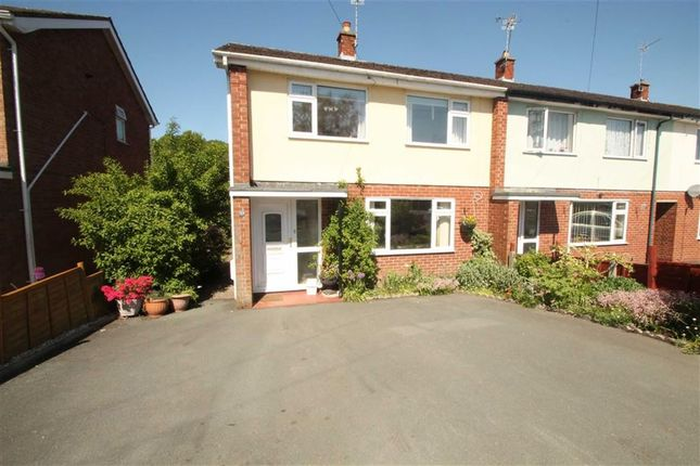 Thumbnail End terrace house to rent in Langland Road, Oswestry