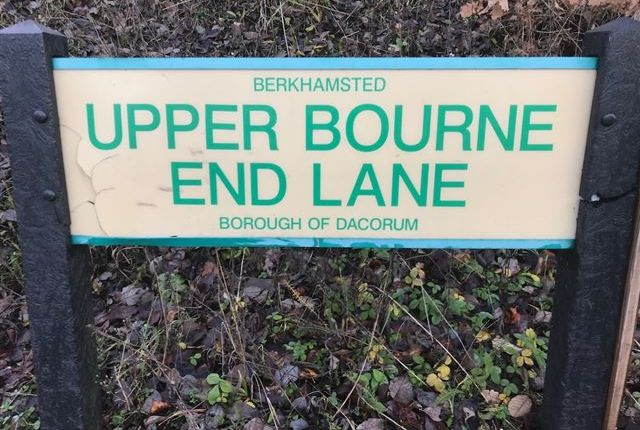 Thumbnail Land for sale in Upper Bourne End Lane, Hemel Hempstead, Hertfordshire