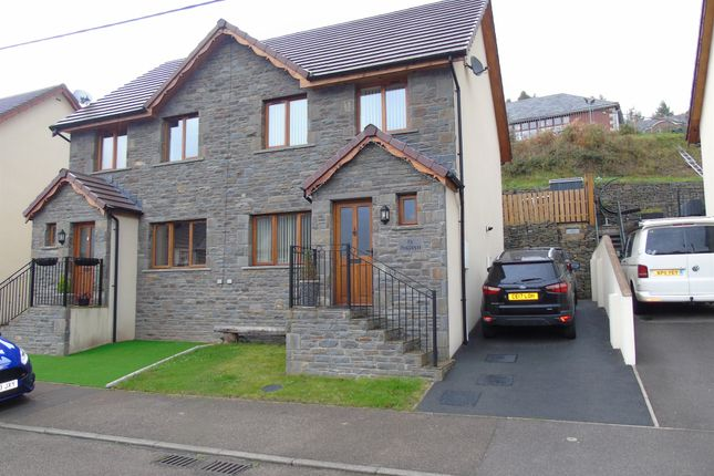 Thumbnail Semi-detached house for sale in Park View, Abercynon, Mountain Ash