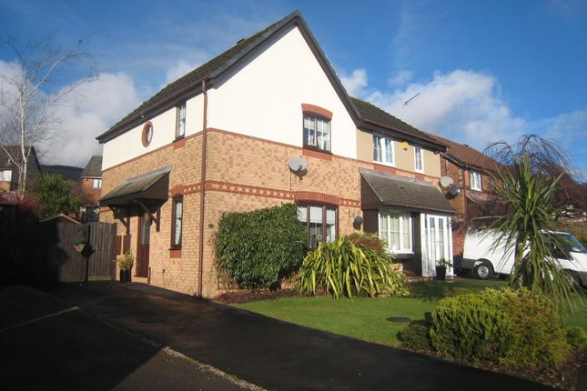 Thumbnail Semi-detached house for sale in Hendre Court, Henllys, Cwmbran