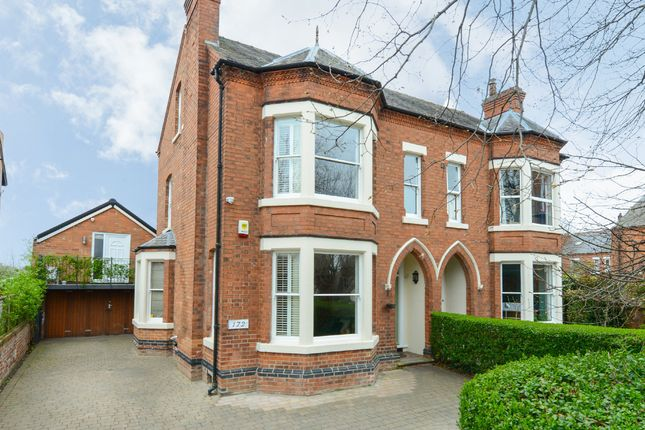 Thumbnail Semi-detached house for sale in Musters Road, West Bridgford, Nottingham