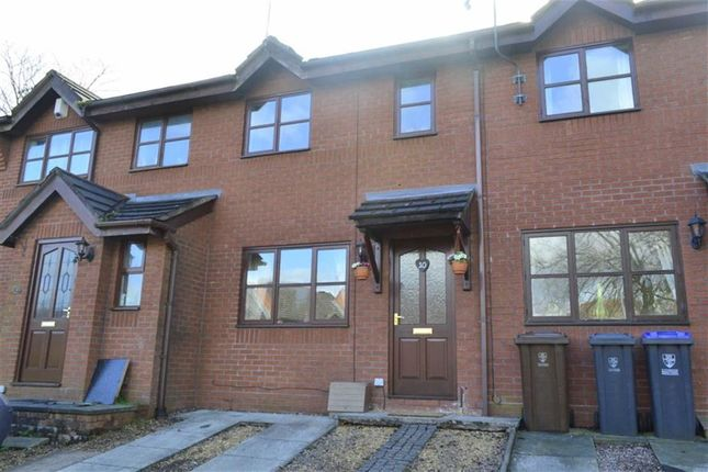Thumbnail Terraced house for sale in Orchard Gardens, Leek, Staffordshire