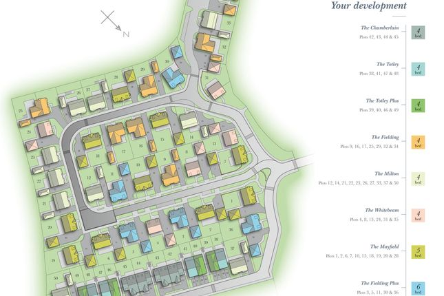 Site Plan of Alderley Park, Nether Alderley SK10