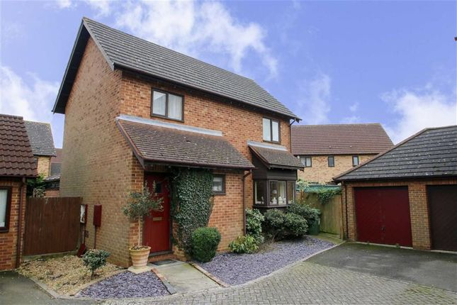 Thumbnail Detached house for sale in Gaddesden Crescent, Wavendon Gate, Milton Keynes