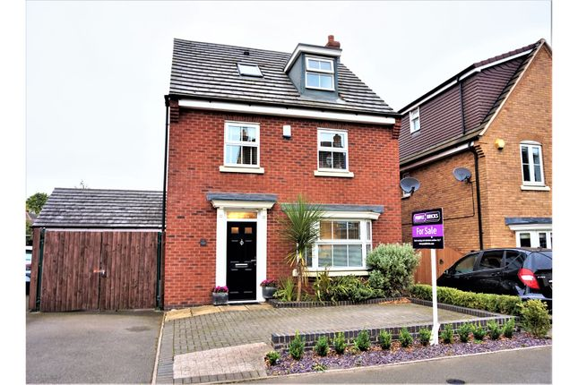 Thumbnail Detached house for sale in Hough Way, Essington, Wolverhampton
