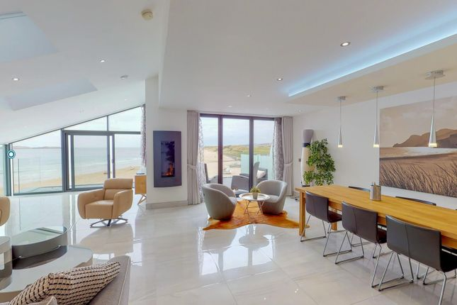 Thumbnail 4 bedroom flat for sale in Penthouse, Sandy Bay, Causeway Street, Portrush