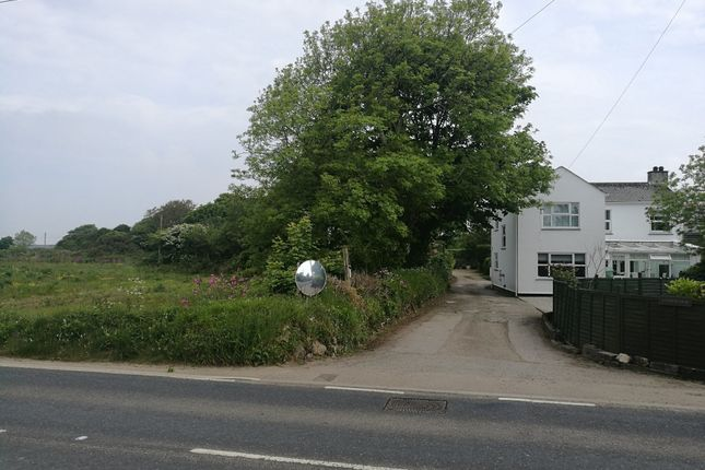 East Bdy From Rd of Development Site For 5 Houses, Rosudgeon, Penzance TR20