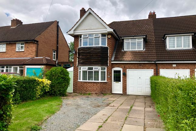 Thumbnail Semi-detached house for sale in Old Lode Lane, Solihull