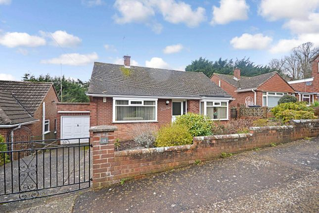 Thumbnail Detached bungalow for sale in Hill Close, Exeter