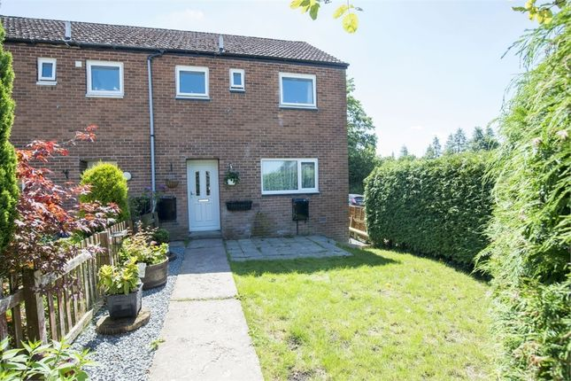 Thumbnail End terrace house for sale in Dolgwenith, Llanidloes