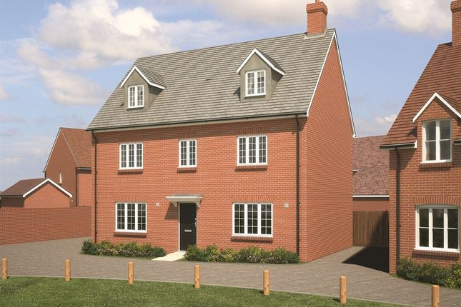 """Thumbnail Detached house for sale in """"The Petworth"""" at Fogwell Road, Botley, Oxford"""