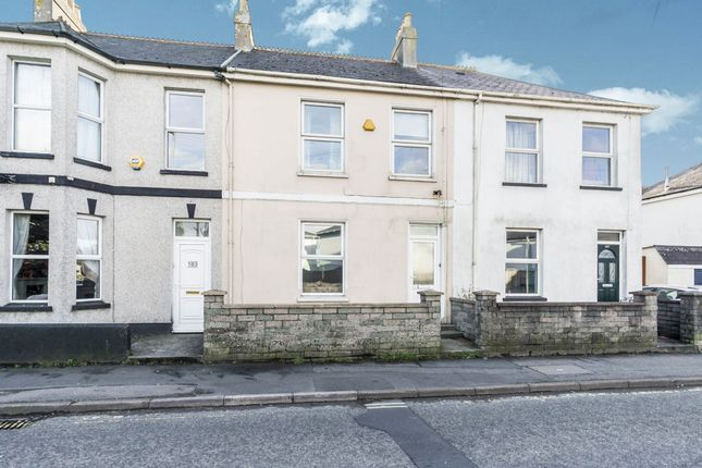 Thumbnail Terraced house for sale in Callington Road, Saltash
