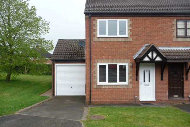 Thumbnail Semi-detached house to rent in Cedar Road, Castle Gresley, Swadlincote