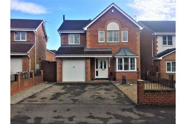 Thumbnail Detached house for sale in Larkspur Court, Bishop Auckland