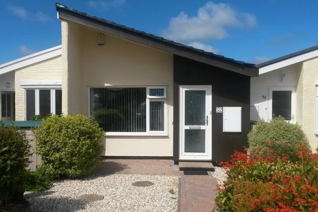 Thumbnail Terraced bungalow for sale in Ellen Close Mount Hawke, Truro