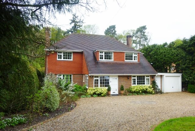 Thumbnail Detached house to rent in Ockham Road South, East Horsley, Leatherhead