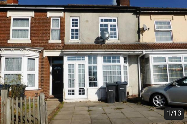 Thumbnail Terraced house for sale in Alum Rock Road, Birmingham