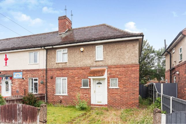 Thumbnail End terrace house for sale in Sidney Road, Intake, Doncaster