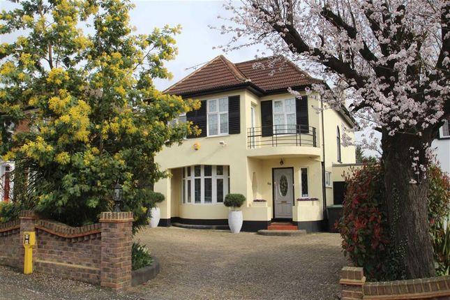 Thumbnail Detached house for sale in Stradbroke Grove, Buckhurst Hill, Essex