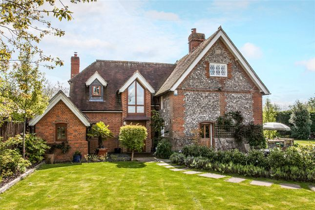 Thumbnail Detached house for sale in Silkstead Lane, Hursley, Winchester, Hampshire