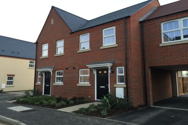 Thumbnail Terraced house to rent in Frankel Way, Biggleswade