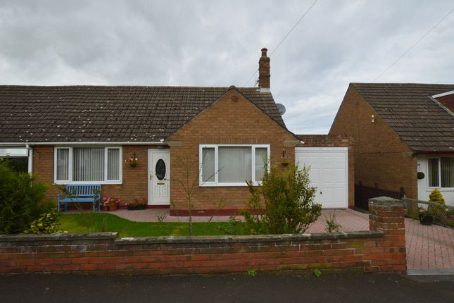 Thumbnail Semi-detached bungalow for sale in Ladywell Road, Tweedmouth, Berwick Upon Tweed, Northumberland