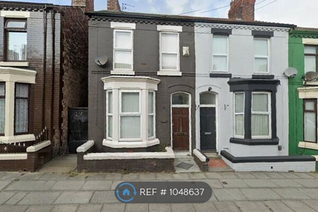 Thumbnail End terrace house to rent in Hornsey Road, Liverpool