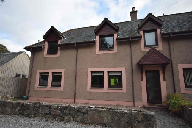 Thumbnail Semi-detached house to rent in Castlehill Cottages, Inshes, Inverness
