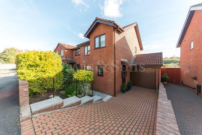 Thumbnail Detached house for sale in Beechwood Close, Newbridge, Newport.