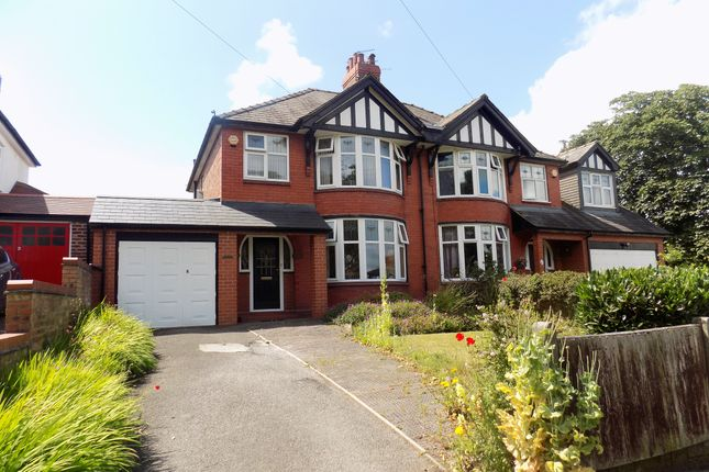 Thumbnail Semi-detached house for sale in Moss Road, Northwich