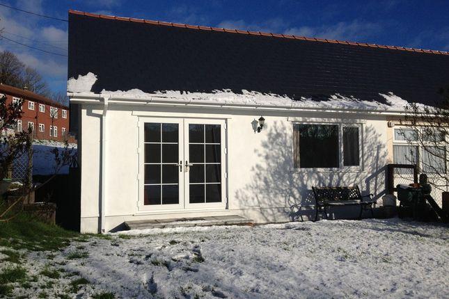 Thumbnail Semi-detached bungalow to rent in Lansbury Bungalows, Abertillery, Gwent