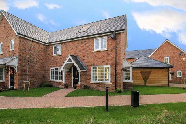 Thumbnail Semi-detached house for sale in Williamson Way, Pitstone, Leighton Buzzard
