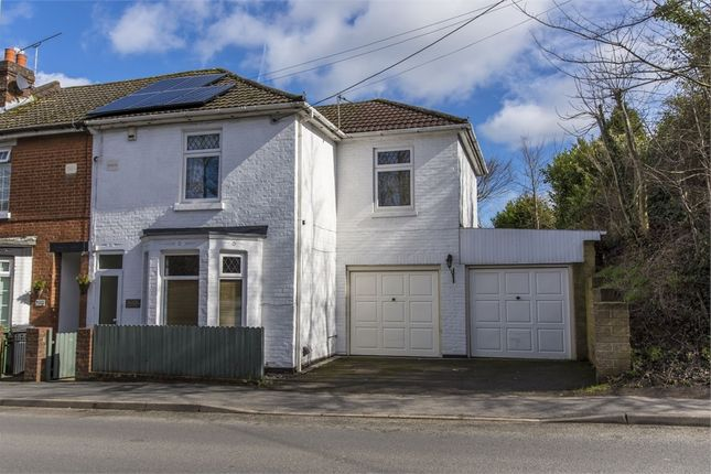 Thumbnail End terrace house for sale in Botley Road, Fair Oak, Eastleigh, Hampshire