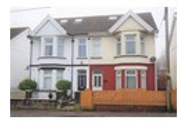 Thumbnail Semi-detached house to rent in Beaufort Road, Ebbw Vale