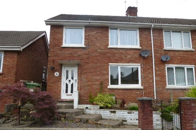 Thumbnail Terraced house to rent in Graig Fach, Glyntaff, Treforest