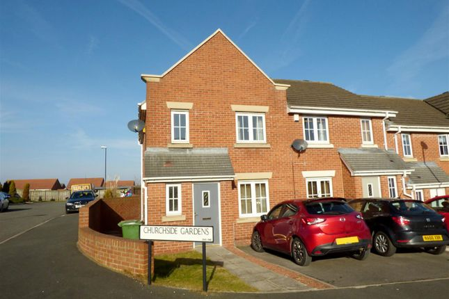 Thumbnail Terraced house for sale in Churchside Gardens, Easington Lane, Houghton Le Spring