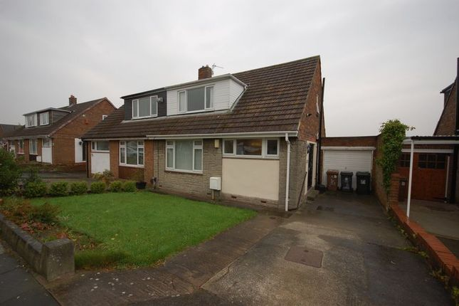 Thumbnail Semi-detached house for sale in Weardale Avenue, Forest Hall, Newcastle Upon Tyne