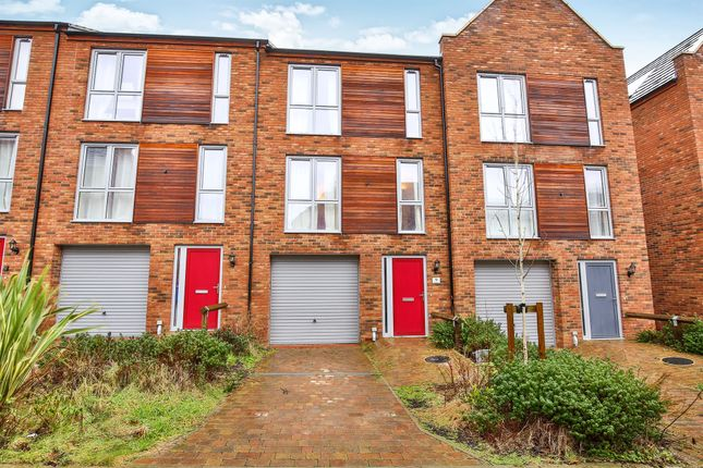 Thumbnail Town house for sale in The Nest, Norwich
