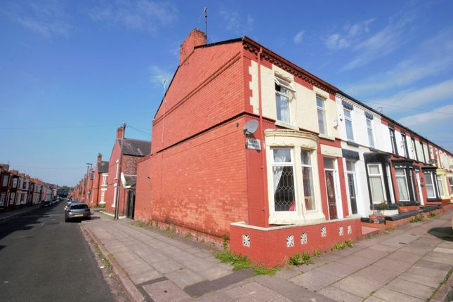 Thumbnail End terrace house for sale in Edenfield Road, Wavertree, Liverpool