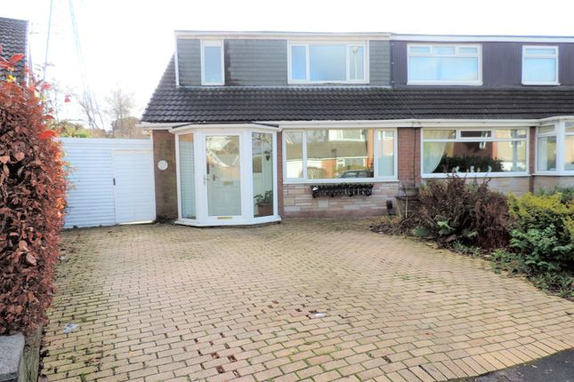Thumbnail Semi-detached bungalow for sale in 83 Cathedral Road, Chadderton