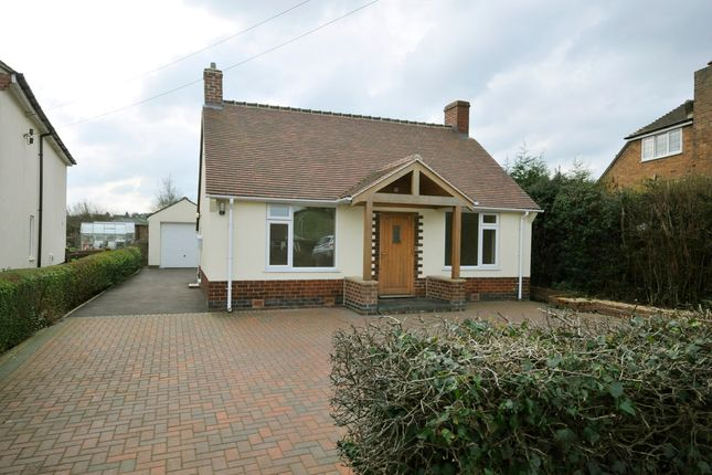 Thumbnail Detached bungalow to rent in Nethermoor Road, Wingerworth, Chesterfield