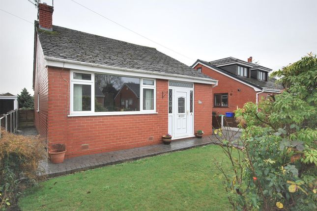 Thumbnail Detached bungalow to rent in Harbourne Avenue, Ellenbrook, Manchester