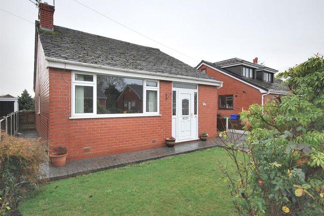 Thumbnail Detached bungalow to rent in Harbourne Avenue, Ellenbrook, Manchester