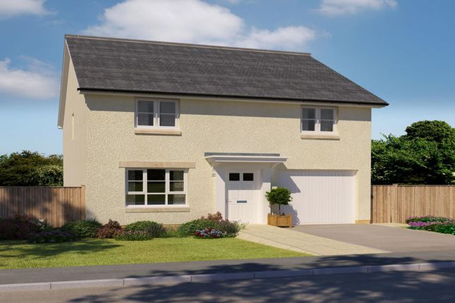"Thumbnail Detached house for sale in ""Glenbuchat"" at Abbey Road, Elderslie, Johnstone"