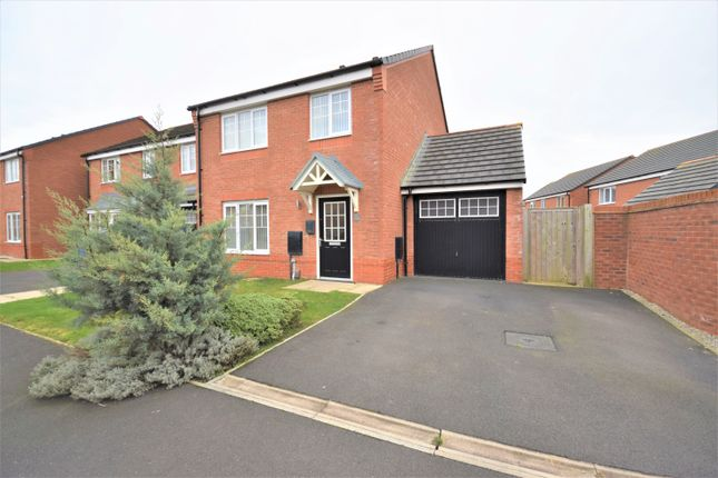 Thumbnail Detached house for sale in Snowdrop Grove, Warton, Preston